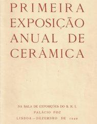 1ª Exposicao Anual de Ceramica (Moderna)
