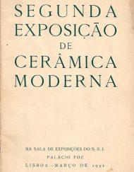 2ª Exposicao Anual de Ceramica Moderna