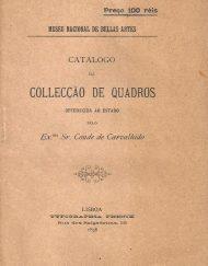 Catálogo de Collecção de Quadros