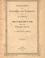 Catálogo Exposição dos Allumnos