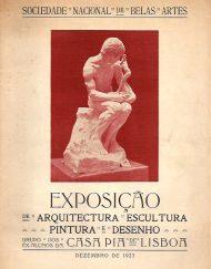 Exposição Arquitectura, Pintura, Escultura e Gravura