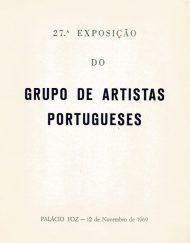 27 Exposição Grupo Artistas Portugueses