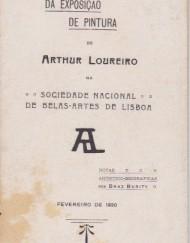 Loureiro,Arthur - Catálogo da Exposição 1920