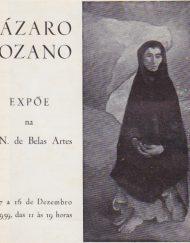 Lázaro Lozano expõe na Soc. N.B.A.
